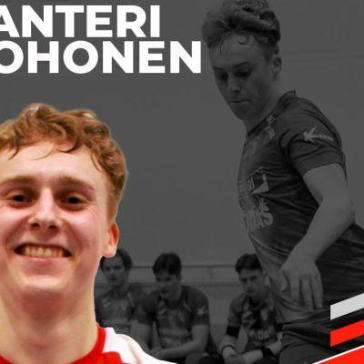 FC Kemin ja HauPan futsal-pekaaja Santeri Kohonen