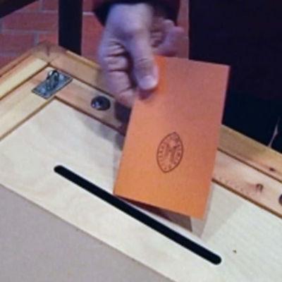 Röstsedel i församlingsvalet
