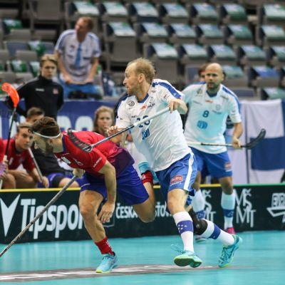 Lauri Kapanen MM-kisoissa 2018.
