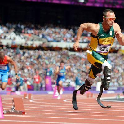 Oscar Pistorius kuvassa