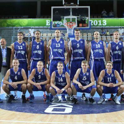 Suomen joukkue EM-kisoissa