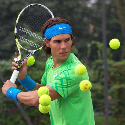 Rafael Nadal tennis Ranskan avoimet