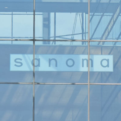 Sanomahuset i Helsingfors.