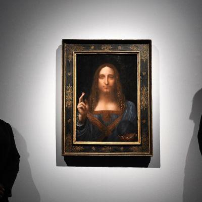 Salvator Mundi maalaus