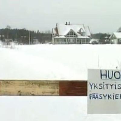 Mika Myllylän kotitalo vuonna 2001 kuvattuna.
