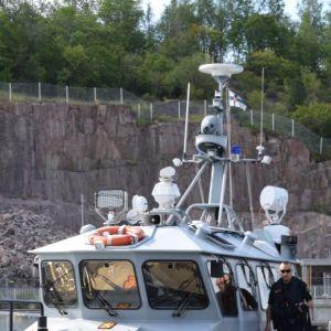 Sjöbevakningsfartyget i Aura Å
