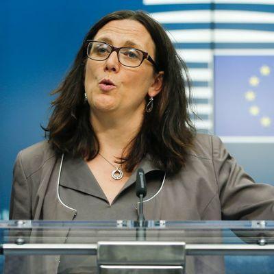 Cecilia Malmström.