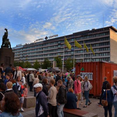 Konstens natt i Vasa.