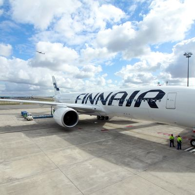 Finnairin A350 -kone