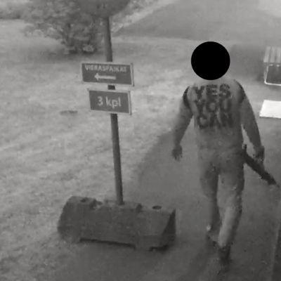 epäilty ampuja Lahden Kärpäsessä