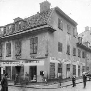 Alfred Nobels födelsehus på Norrlandsgatan 11