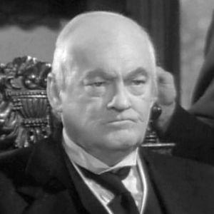 Skådespelaren Lionel Barrymore