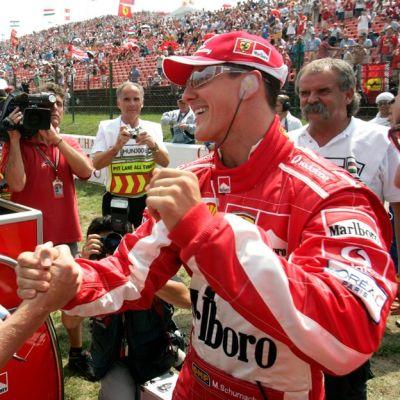 Mika Häkkinen ja Michael Schumacher