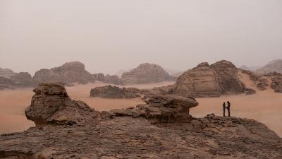 det öde landskapet på planeten Arrakis.