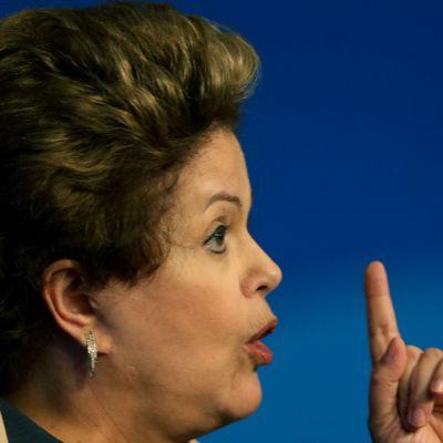 Brasilian presidentti Dilma Rousseff
