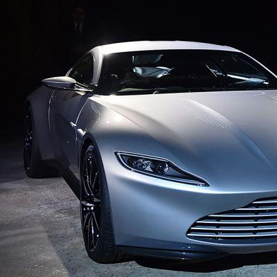 Aston Martin DB10 -mallin auto nähdään tulevassa James Bond -elokuvassa 'Spectre'.