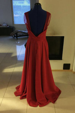 Ella Nyströms gammeldansklänning