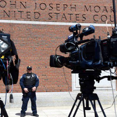 John Joseph Moakleyn oikeustalo Bostonissa 1. toukokuuta.