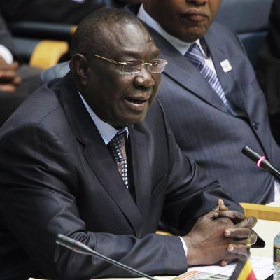Keski-Afrikan tasavallan entinen presidentti Michel Djotodi. Valokuva on heinäkuulta 2013.