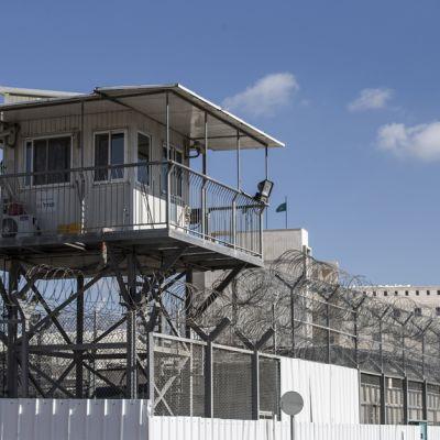 Aylonin vankila Ramlessa, Tel Avivin ulkopuolella. Kuva on helmikuulta 2013.