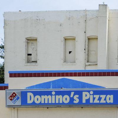 Domino's Pizzan kyltti Tampassa.