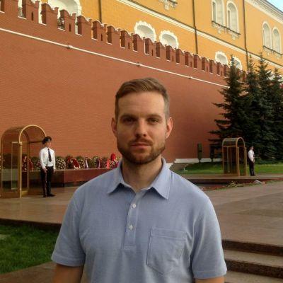 Erkka Mikkonen Moskovassa