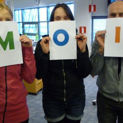 M, O, ja I -kirjaimet