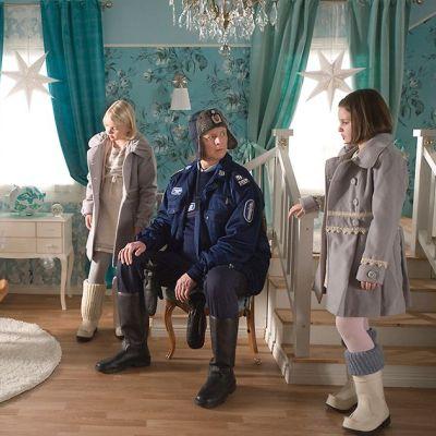 Kuva kohtauksesta elokuvassa Onnelin ja Annelin talvi.