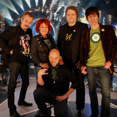 Sami Hintsanen, Virve Rosti, Freeman, Jiri Nikkinen ja Kari Pesonen