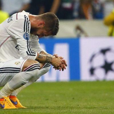 Sergio Ramos pettyneenä