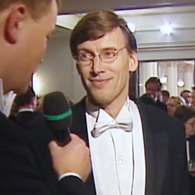 Hannes Kulvik itsenäisyyspäivänä vuonna 1999.