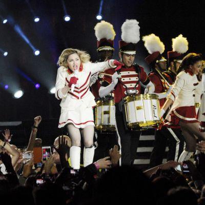 Madonna esiintyy Helsingin olympiastadionilla