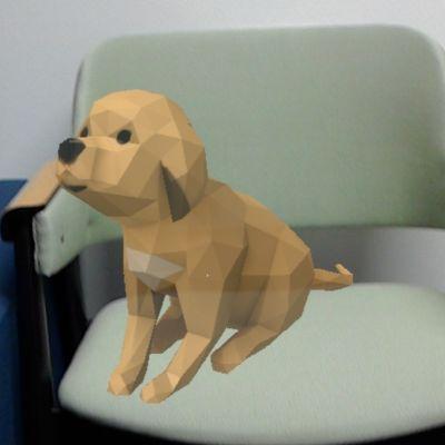 Virtuaalinen koira.