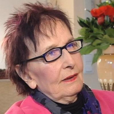 Näyttelijä Marja Korhonen vuonna 2008.