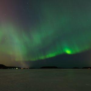 Norrsken i Villmanstrand