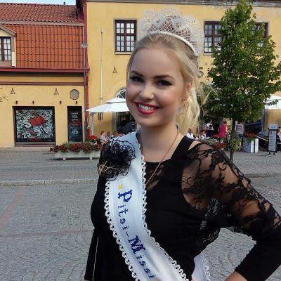 Vuoden 2016 Pitsimissi Ulrika Mäkinen.