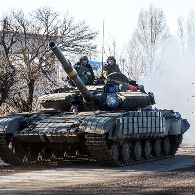 striderna fortsätter i östra Ukraina