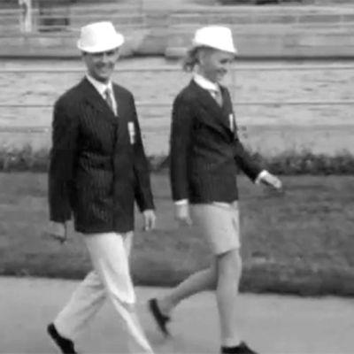 Vuoden 1968 Meksikon kisojen suomalaista kisamuotia.