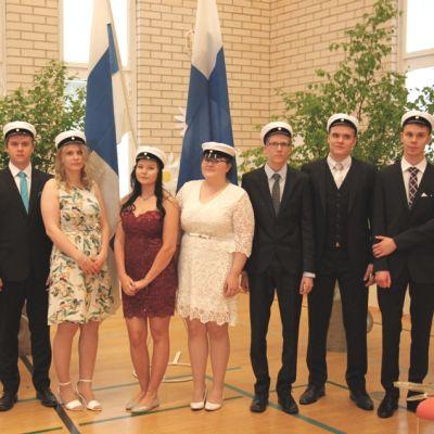 Muurolan lukion viimeiset ylioppilaat