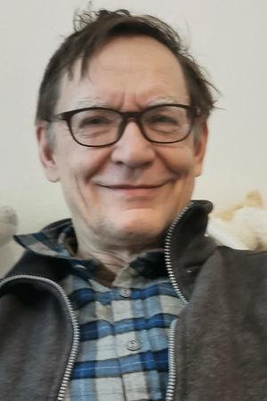 Säveltäjä Kalevi Aho maaliskuussa 2021.