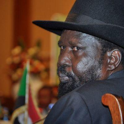 Etelä-Sudanin presidentti Salva Kiir.