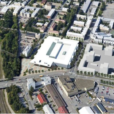 Planer på nytt köpcentrum till gamla busstationen i Vasa.
