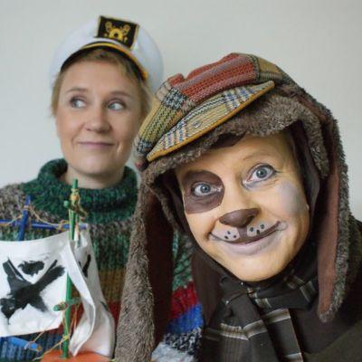 Vahtikoira karkuteillä on yksi Lasten Teatteritapahtuman esityksistä