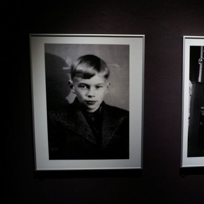 Spede nuorena valokuvissa