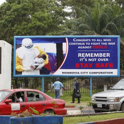 Guinean naapurimaa Liberia on ollut ebola-vapaa marraskuun alusta.
