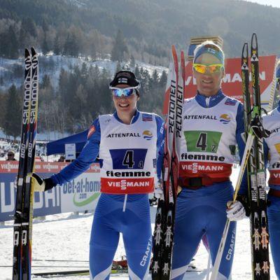 Matti Heikkinen, Ville Nousiainen, Lari Lehtonen ja Sami Jauhojärvi