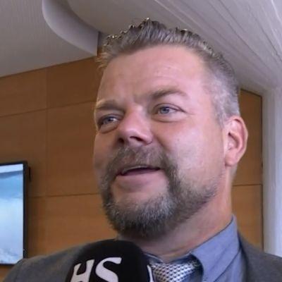 Kuvakaappaus Jari Sillanpään haastattelusta.