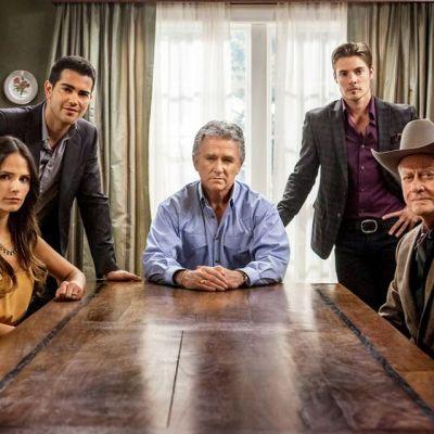 Dallas tv-sarjan näyttelijöitä.
