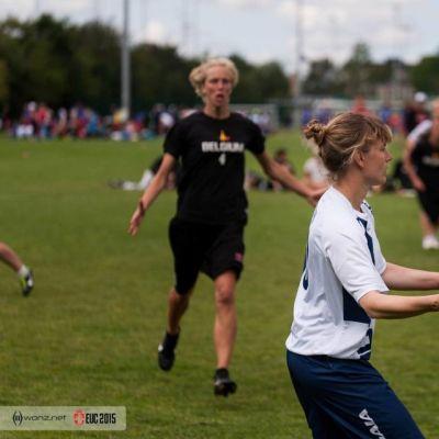 Ultimate, naisten maajoukkue, Kööpenhamina, Euroopan mestaruus, Essi Inkinen