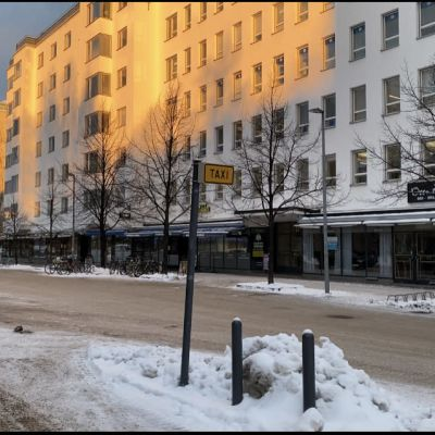 Oulun keskusta 30.11.2020